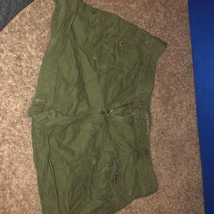 Size 6 Army green shorts